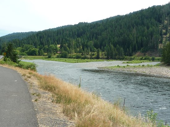 Kooskia, ไอดาโฮ: Nearby Clearwater River