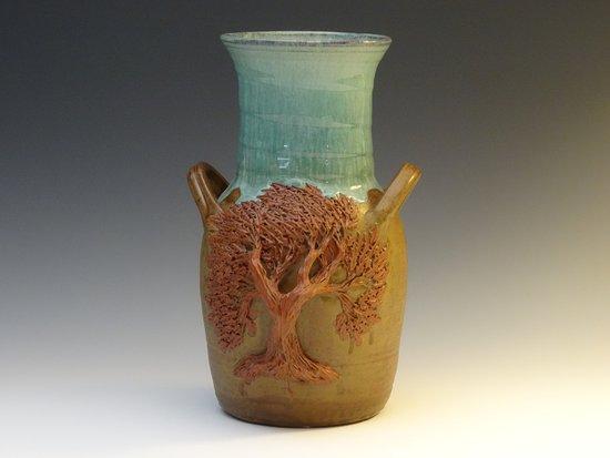 Burnsville, NC: Tree Vase