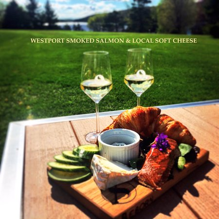Westport, Canada: Taste local, love local. From our wines to locally sourced foods. Cheers.