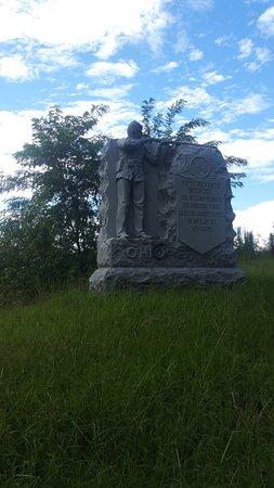 Vicksburg National Military Park: state marker
