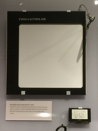Computer History Museum: first tablet!