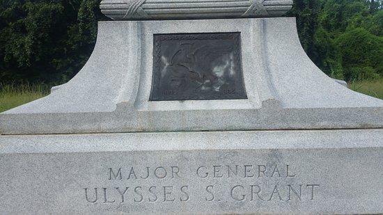 Vicksburg National Military Park: Grant memorial