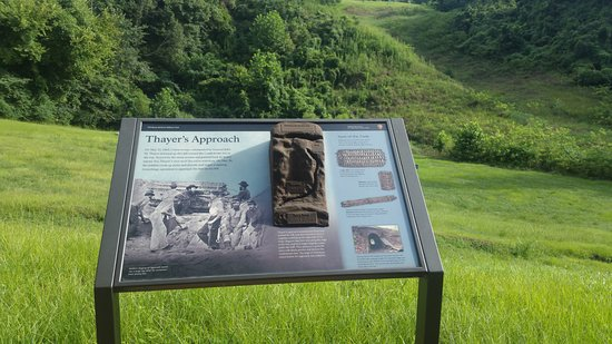 Vicksburg National Military Park: One of the battle areas