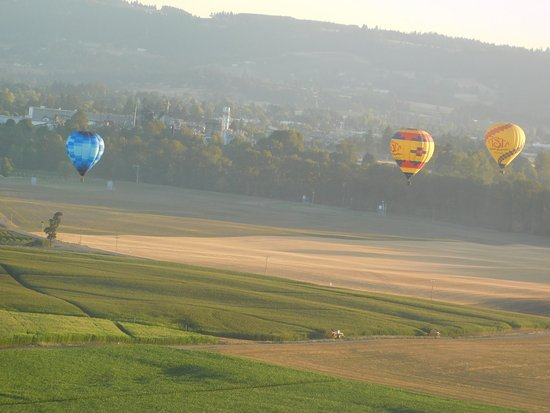 Vista Balloon Adventures: Up in the Air, quiet, very smooth