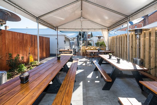 Mudgee, أستراليا: Beer Garden