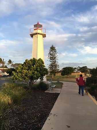 Cleveland, Australia: Historical Lighthouse the the Restaurant is named after