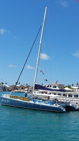 Hamilton, Islas Bermudas: great catamaran