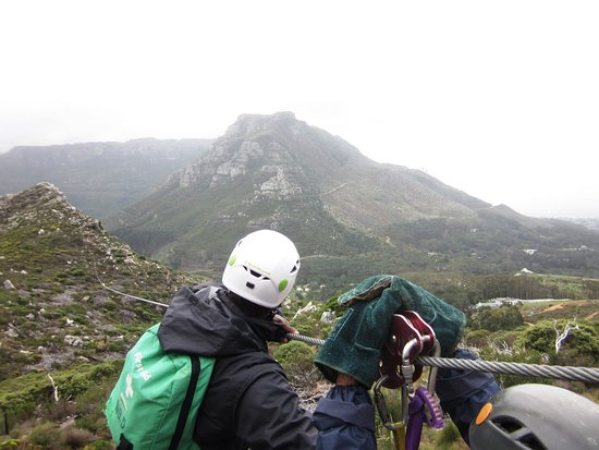 Constantia, Νότια Αφρική: The zipline guides are amazing