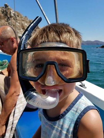 Tambor, Kosta Rika: Snorkelin at Tortuga Island