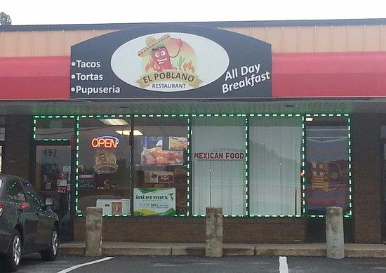 Severna Park, MD: Front of El Poblano Restaurant
