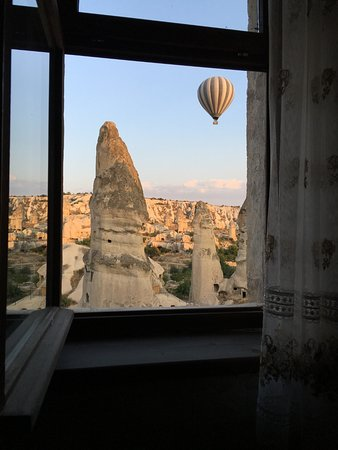 Goreme Suites: view from the cave room