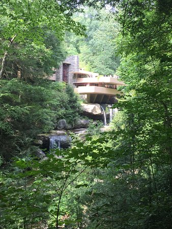 View of 'FallingWaters' from Iconic View Point