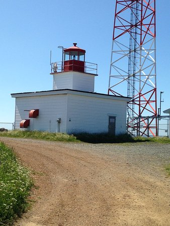 Grand Manan, Canadá: The practical but not scenic lighthouse