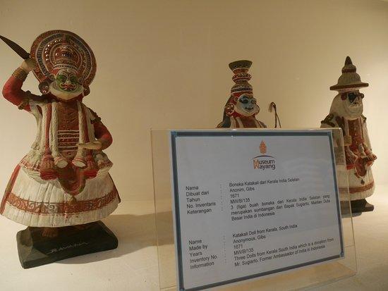 Museum Wayang: wayang dari india