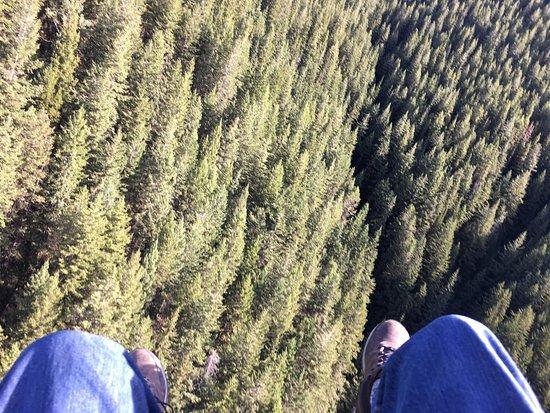 Goleen, Canadá: Fly like a bird.
