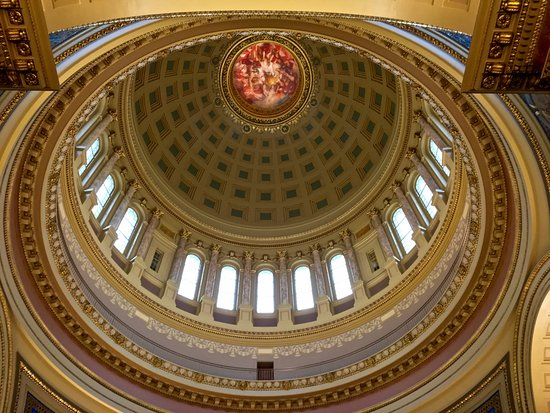 Wisconsin State Capitol Building Dome