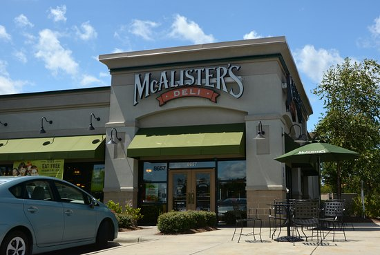 Deli done right review of mcalisters deli concord nc for Charlotte motor speedway condo rental