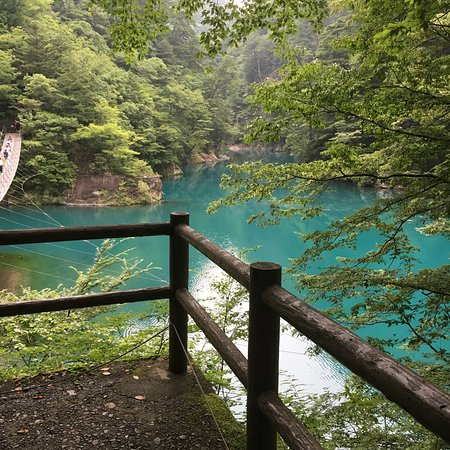 Kawanehon-cho, Japan: Yume no Tsuribashi Suspension Bridge