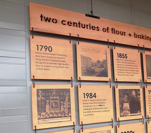 Norwich, VT: Two centuries of flour!
