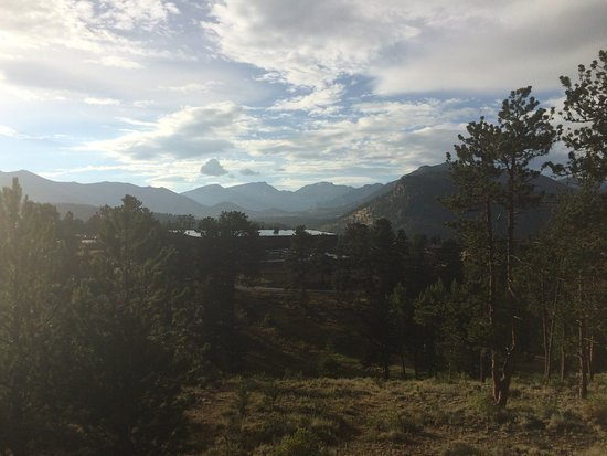 YMCA of the Rockies: view from our porch
