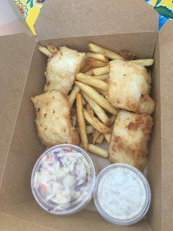 The Crazy Norwegian's Fish & Chips: photo2.jpg