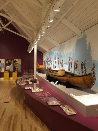 Abbe Museum Canoes