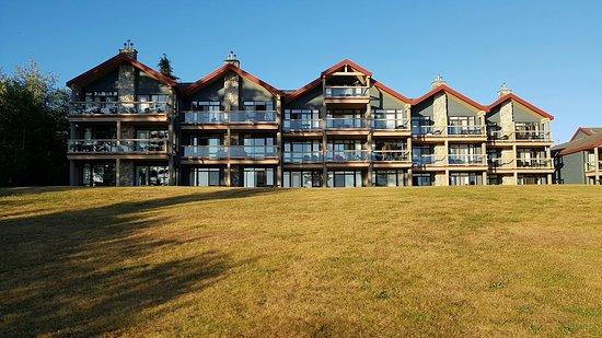 BEST WESTERN Tin Wis Resort: Garden views
