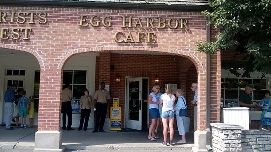 pancakes picture of egg harbor cafe lake forest tripadvisor