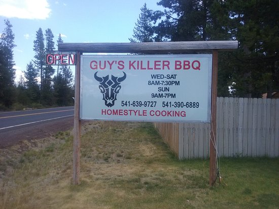 La Pine, ออริกอน: Great BBQ