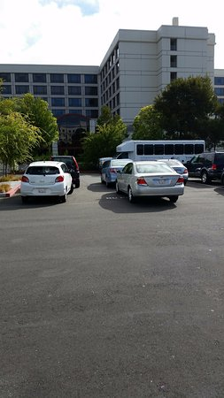 Millbrae, CA: Cars forced to park in No Parking area.