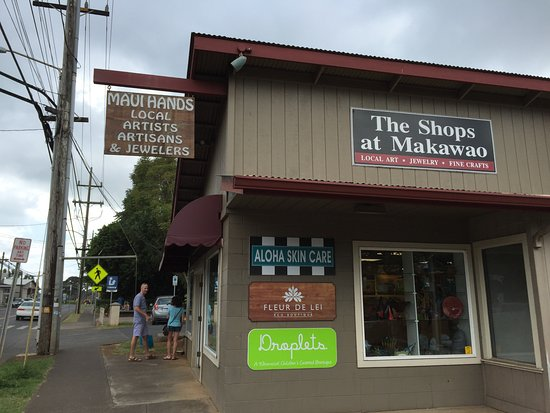 Makawao, Hawaï: The shops