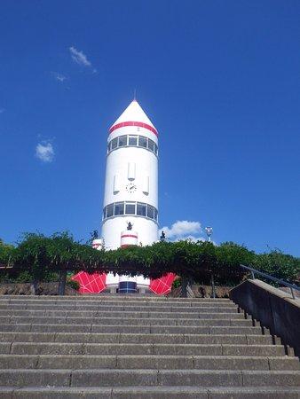 Saku, Japan: ロケット型展望台