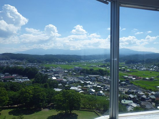 Saku, Japan: 展望台からの眺め