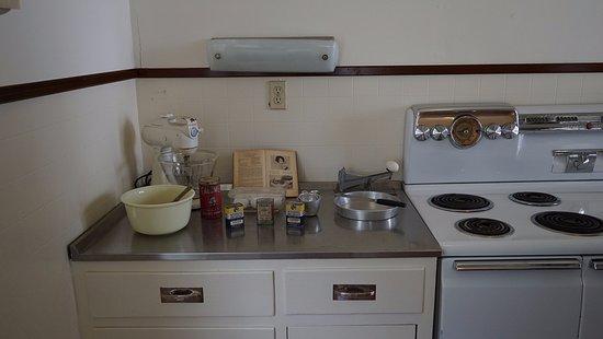 Ρίτσμοντ, Τέξας: 1930-е. Оригинальный дом. Кухня