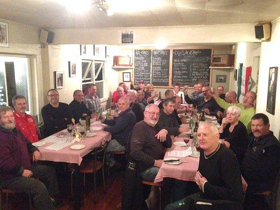 IMOC at The Italians Restaurant in Kerikeri