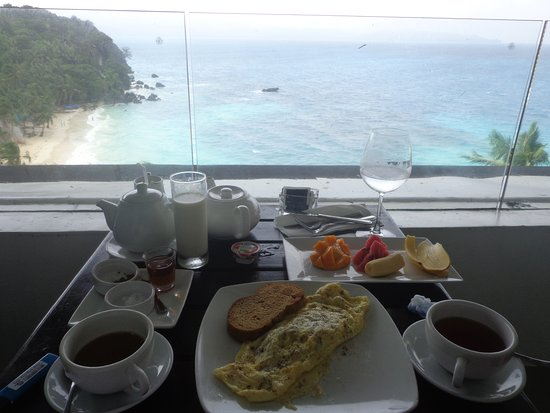Nami Resort: In room breakfast with a view