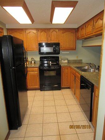 Tree Tops Resort: kitchen