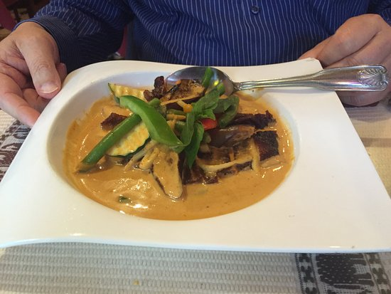 Sri Thai Cuisine: Duck Curry