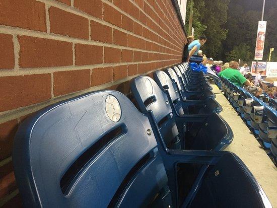 McCormick Field : New seats the last few years