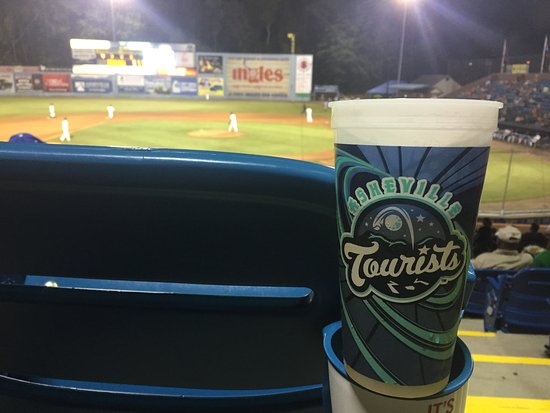 McCormick Field : We're all tourists!