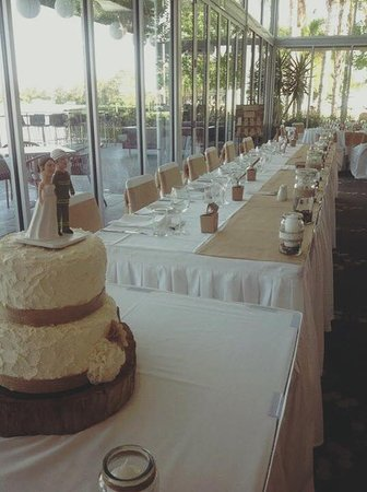 Renmark, Australia: Wedding in our Rivers Edge Function Centre