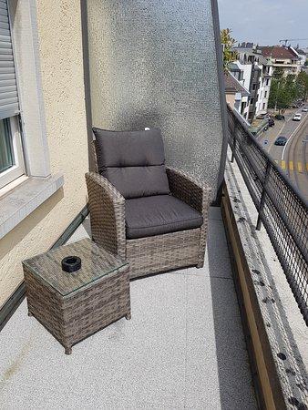 Hotel Krone Unterstrass: Balcony