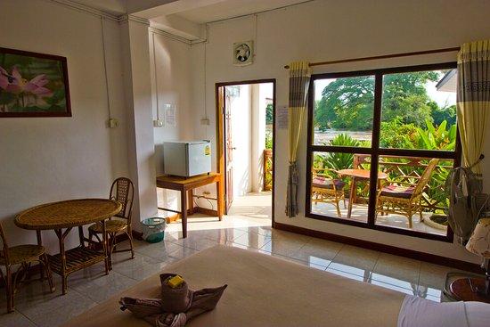 Don Det, Laos: Double room ground floor
