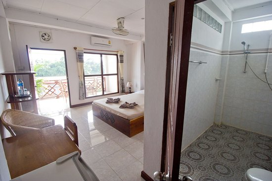 Don Det, Laos: Double room first floor