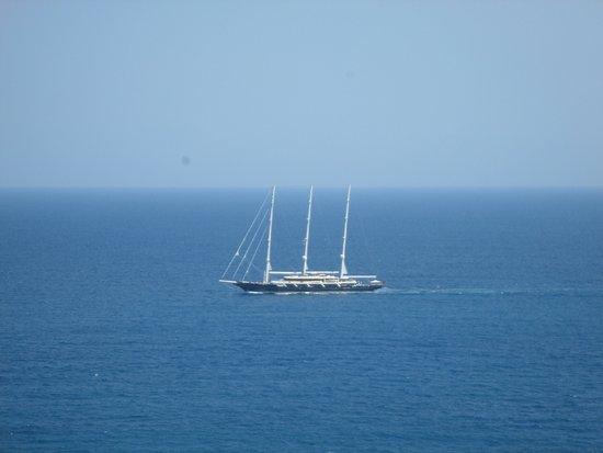 Hotel Dei Cavalieri: Excelente vista al mar