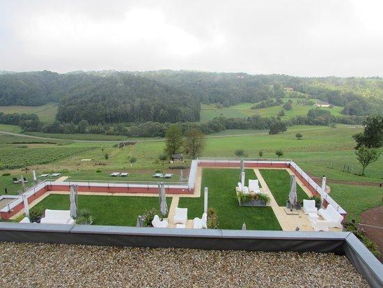 St. Martin an der Raab, Austria: Schon frühmorgens hat uns die Landschaft angelacht und helle Freude über unser Ziel entfacht