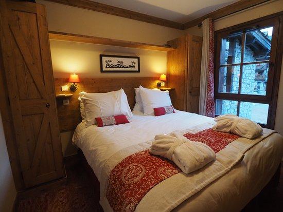 Radisson Blu Resort, Arc 1950: la chambre est toute petite mais très jolie