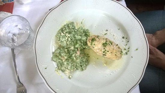 Collalbo, Italia: Primo piatto