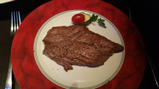 Brasserie Au Bon Plaisir: Flank Steak (Bavette), part of our steak festival
