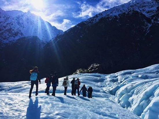 Fox Glacier Guiding: Awesome view during our trek